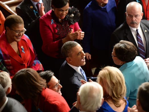 an analysis of president obamas 2014 state of the union address How did president barack obama do in his state of the union address tuesday night guardian reporters and editors were watching, and have graded him on how he addressed some key issues in his speech.