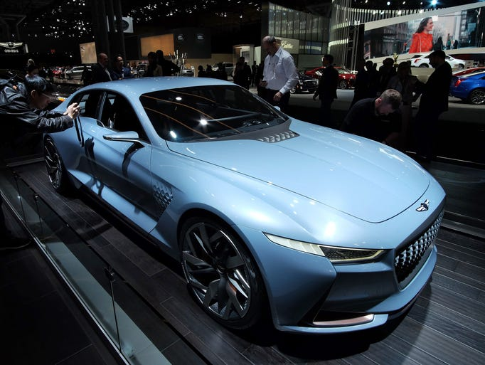 Genesis Shows Its Future With Concept Car