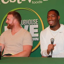 Clubhouse Live with John Kuhn welcomes special guest Ha Ha Clinton-Dix on Monday, Sept. 15, 2014. The show at The Clubhouse Sports Pub & Grill in downtown Appleton is co-hosted by Brett Christopherson and Ricardo Arguello.