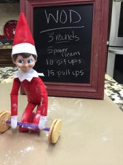 Viewers sent in their unique places their Elf on the Shelf has been found.