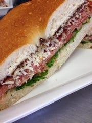A sandwich from Ma's Italian Specialties & Catering in Belmar.