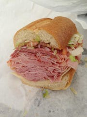 A sub from Prime Food Market in Brick.