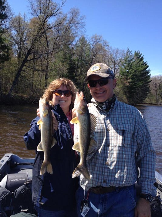 Beth and Tom Rodgers with a nice walleye double.jpg