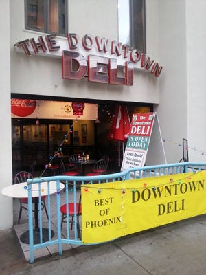 Downtown Deli in Phoenix is scheduled to close on Friday, May 22.