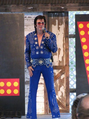 Dayton-based Elvis tribute artist Brian Brenner will perform at 7 p.m. Sunday at the Mayor's Concert Series in Birchard Park.