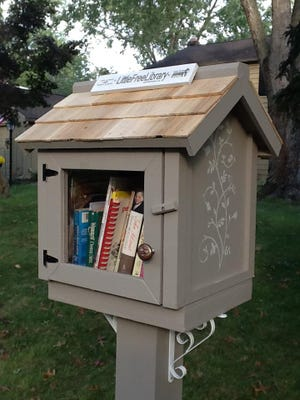 This Little Free Library can be found at 1215 Forge Road in Cherry Hill. The library steward is Judy Tyler.