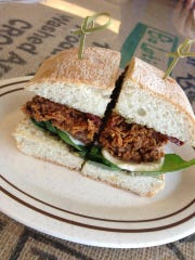 Rusted Rooster chicken sandwich.