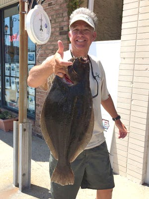 Andrew Smith finished up the week with a nice 6 lb. flounder he caught in the back bays of Brigantine, NJ.