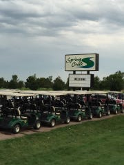 Spring Creek golf course was vandalized over the weekend.