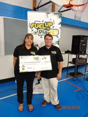 Susan Cornish and Kevin Podelweltz lead the Fuel Up to Play 60 program