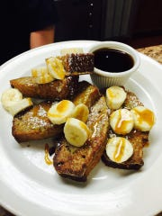 Banana bread French toast at Taylor Sam's in Brick.