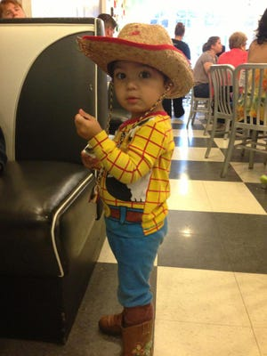 This little Toy Story fan enjoyed Disney Week at a previous Pop Shop event.