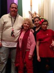 Jeff Springer (from left), Denise Springer, Nicole Parodi and her daughter, Elisa Zapata..