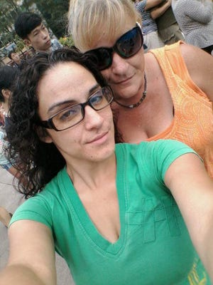 Ruby Mercado took this selfie with her mother, Tina Sparks. York City Police said Mercado was fatally shot in her minivan on North Hartley Street on Aug. 28, 2015.