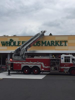 Cherry Hill Fire Department on scene at Whole Foods responding to fire