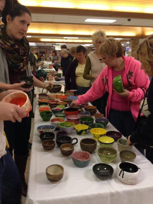 The 14th annual Empty Bowls will be held Saturday at Stevens Point Area Senior High School.