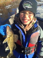 A nice northwest Wisconsin walleye.