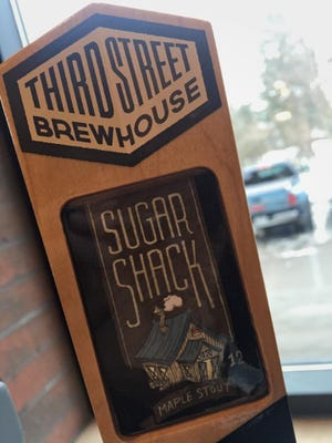 Third Street Brewhouse in Cold Spring has its Sugar Shack maple stout winter seasonal available through January.