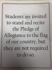 All Santa Rosa School District classroom now have these signs posted.