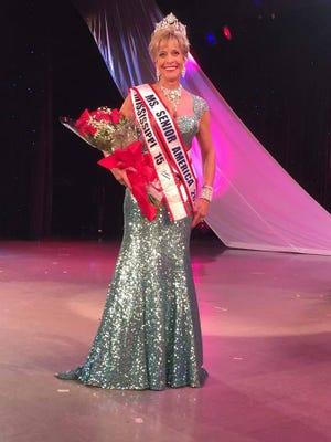 Barbara Mauldin of Petal was crowned the 2015 Ms. Senior America in Atlantic City, NJ.