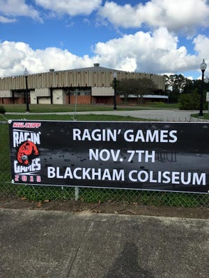 The fifth annual Ragin' Games take place Saturday at Blackham Coliseum.