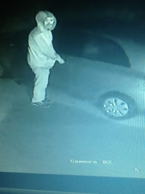 Delaware State Police are looking for this man, who is suspected of stealing from cars in Sussex County.