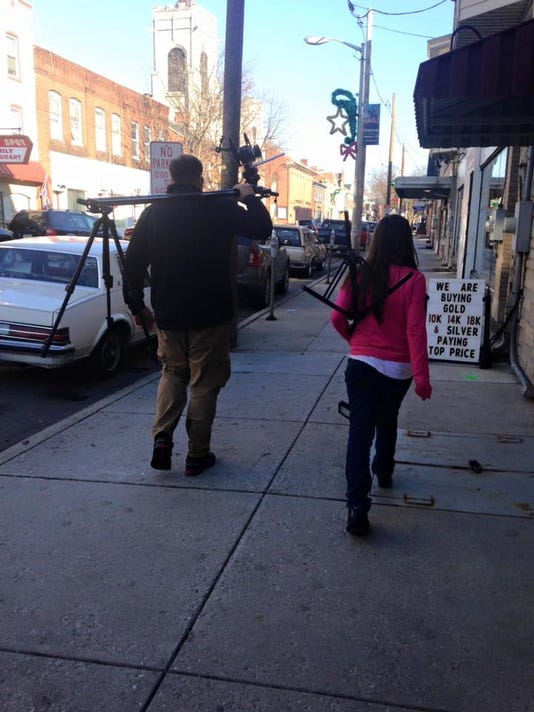 Downtown Video Shoot