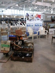 Greater Des Moines Habitat for Humanity ReStore sells used and new household items.