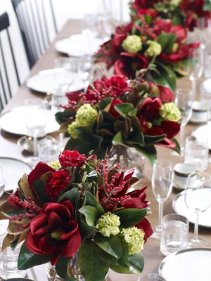 Florist Tina Coker will lead a holiday decor workshop at Ethan Allen in Viera on Saturday. A luck guest will win one of her floral arrangements.