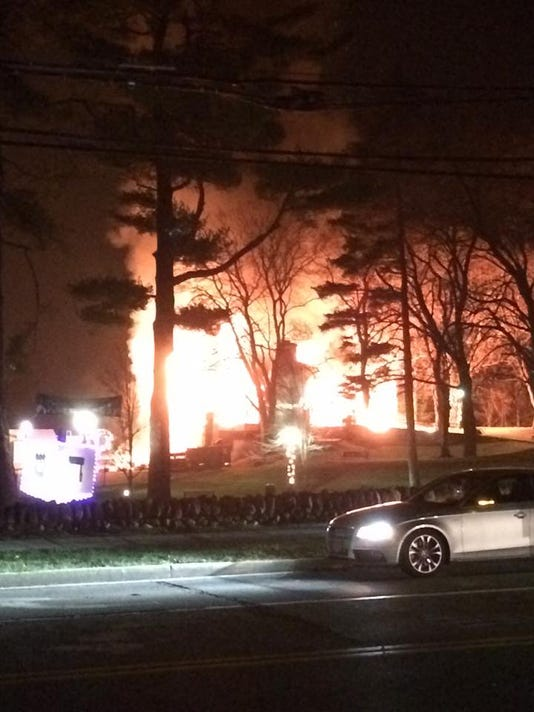 Briarcliff Manor pool fire