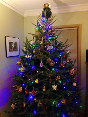 The Wellman family 2015 Christmas tree.