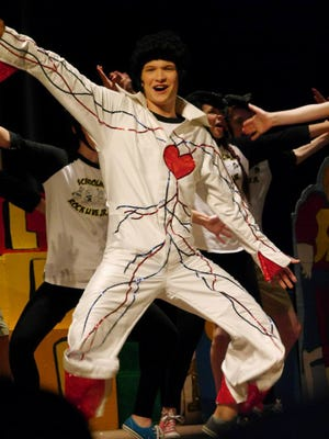 "Fox Postier played Elvis in Children's Educational Theatre's high school production of ""School House Rock Jr."" last summer."