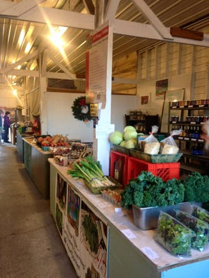 The Fresh To You Produce stand at the Indoor Salem Public Market