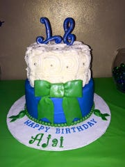 Ajai Shaw just celebrated her 18th birthday. Green