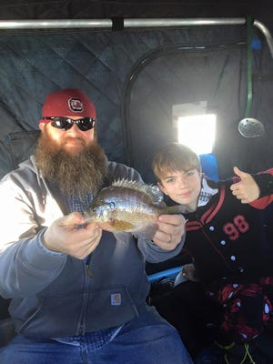 Panfishing on the inland lakes has been very good lately.
