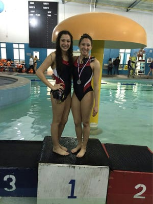 Jefferson/Silva Acosta sister's Alejandra and Andrea Acosta qualified to the state swimming championships. This is the first and last year they will swim together.