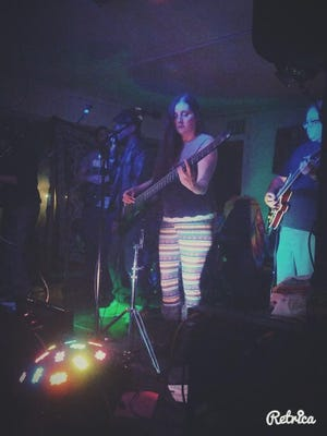 The reggae band Green Machine is composed of Tina Simmons, Chris Avila, Dave Huckabay,Travis Groeber Jeramy DeSousa, and Sometimes Ras Horace Montgomery, and Lion L Paul. They perform Friday at the Cellar Door.