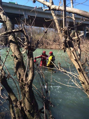 Murfreesboro Fire and Rescue Department, Murfreesboro Police Department, and Rutherford County Special Operations Rescue Team (SORT) responded to a water rescue incident at the Walter Hill Dam located at 556 Lebanon Pike just after 12:30 Saturday afternoon.