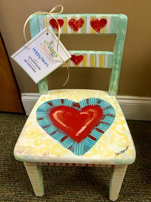 Chairs for Children raises money for Child Protect, Children's Advocacy Center.
