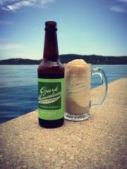 A mug of root beer.