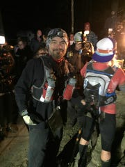 Ed Thomas ready to start the second loop of the Barkley
