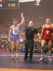 Lexington grad and Duke heavyweight Jacob Kasper has