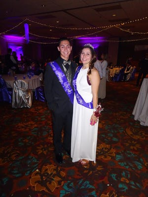 Prom king and queen  Fernando Rodriquez  and Savannah Wilson celebrated the night at CasaBlanca Resort.
