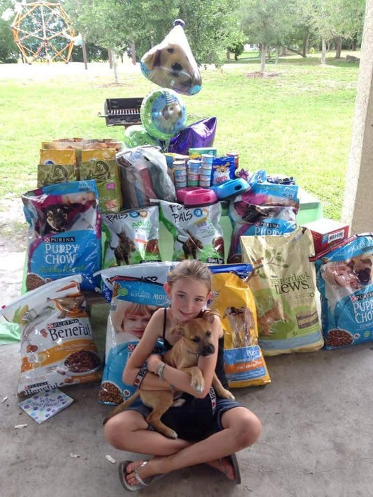 Girl Scout from Cape Coral has a heart for animals