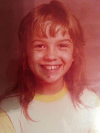 A childhood photo of Tammy Jo Alexander.