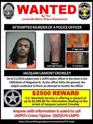 Police are looking for information related to Jacquan Crowley.