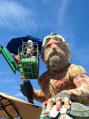 The King Neptune statue in Virginia Beach.