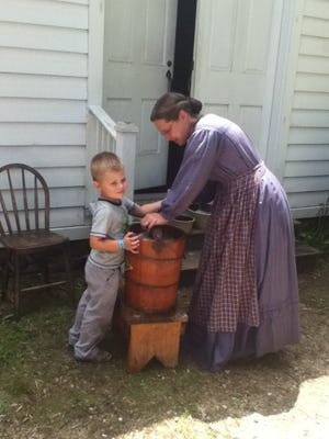 At Wade House Dairy Days, hands-on activities will include hand cranking an ice cream maker