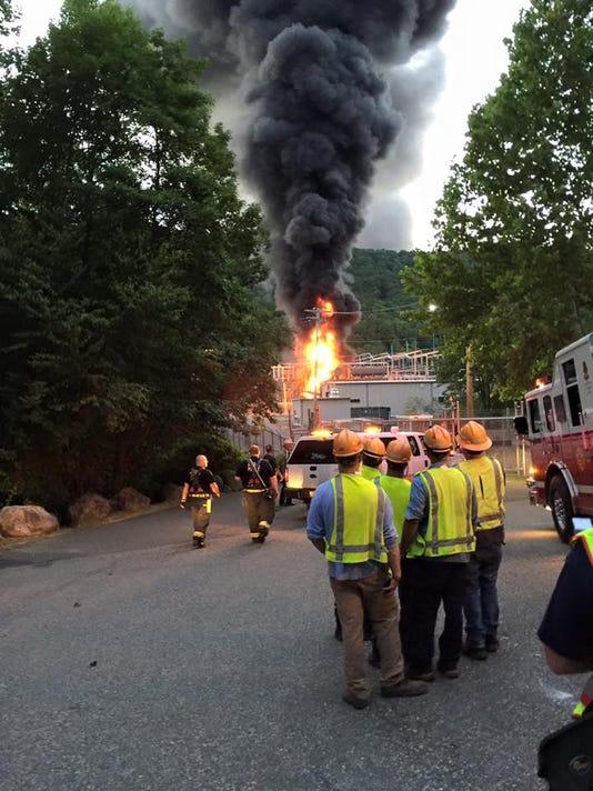 Hillburn Fire