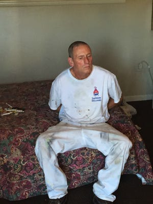 Floyd C. Clanton, 58, was arrested at a Lebanon motel June 10 and later indicted on seven bank robbery counts.